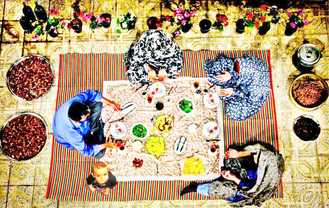 عکس روز/ لحظه افطاری