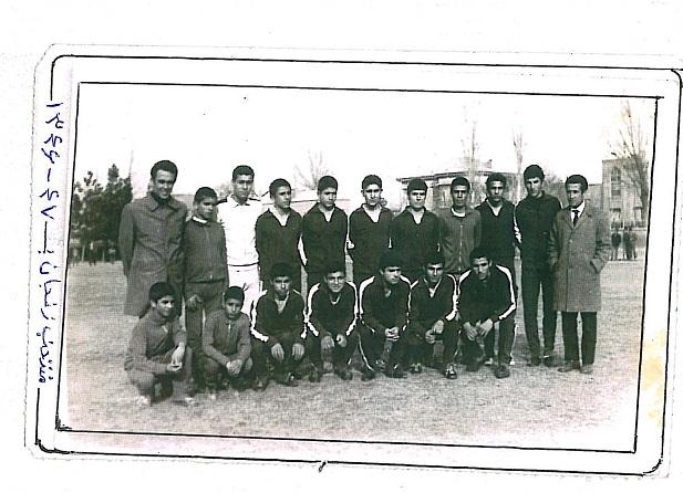 عکس/ تیم فوتبال منتخب زنجان در دهه ۴۰