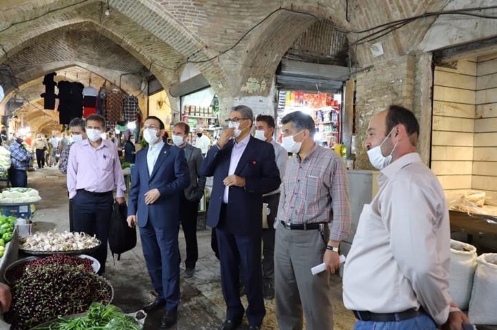 تاسیسات برق بازار تاریخی زنجان ساماندهی می شود