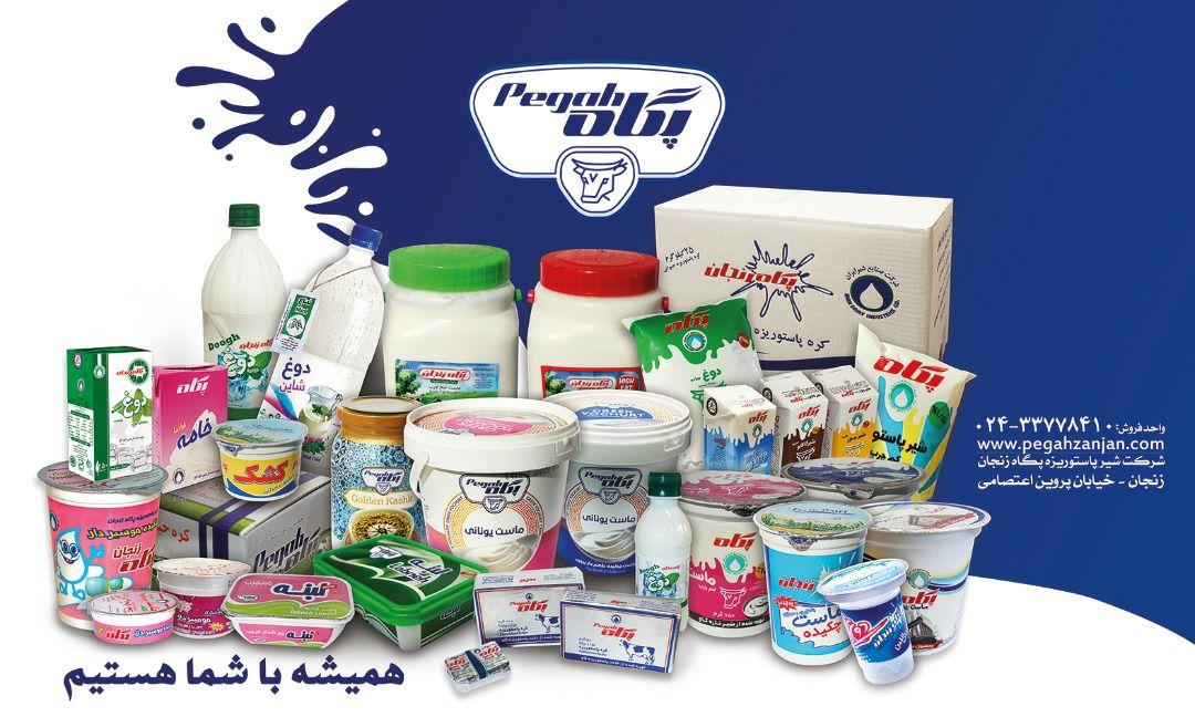 مدیرعامل شرکت شیر پاستوریزه پگاه زنجان: با مصرف محصولات پاستوریزه لبنی،سلامتی خود را تضمین کنیم