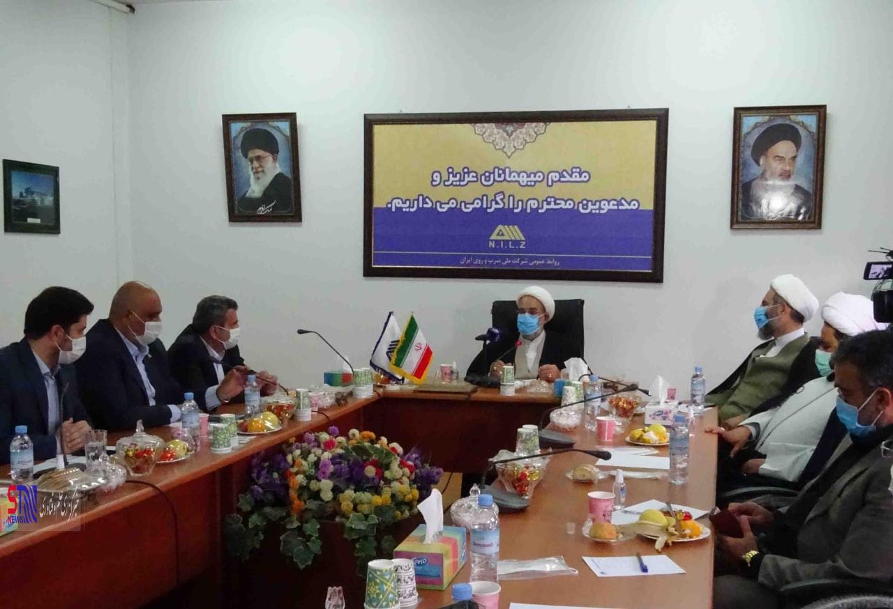 تقدیر رئیس کل دادگستری استان از اقدامات زیست محیطی شرکت ملی سرب و روی ایران