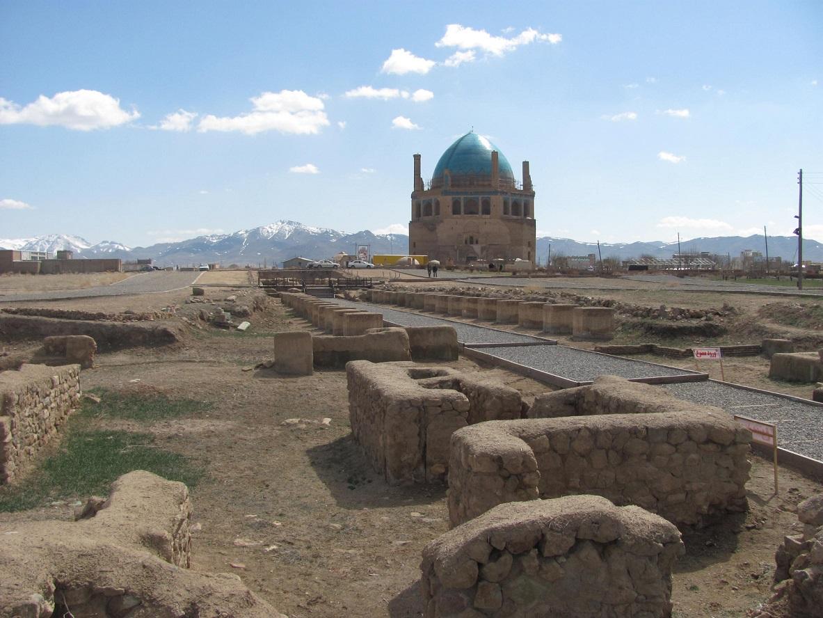 عکس روز/ گنبد تاریخی سلطانیه